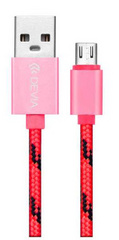 Devia Fashion Cable 1m for Android - Pink