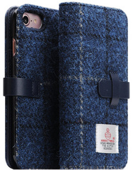 D5 Special Edition X Harris Tweed Case - Navy (iPhone 7/8)