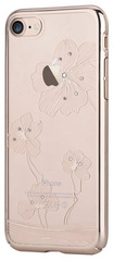 Comma Crystal Flora Case for iPhone 7/8 - Champagne Gold