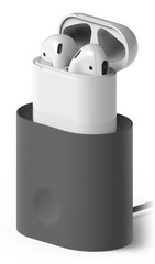 Elago Airpods Charging Stand - Dark Gray