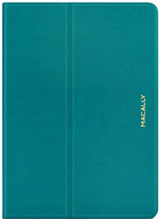 Protective case with rotatable stand for iPad Air - Turquoise