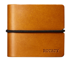Rotaty Earphones Case - Brown
