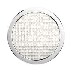 Rock W4 Quick Wireless Charger Aluminium & Fabric - Silver