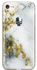 BMT Treasure Alabaster/Silver Skull case for iPhone 7/8