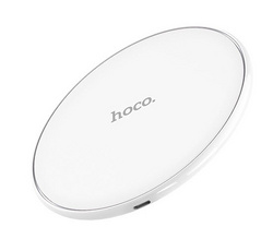 Hoco CW6 Wireless Charging Pad - White