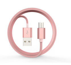 Devia Micro USB Cable Rose Gold - 1m