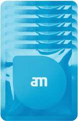 AM Wipes (6 packs of 3) - Anti bacterial wet screen cleaning tissues - Blue