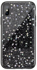 SwitchEasy Starfield case for iPhone Xs Max - Black Star