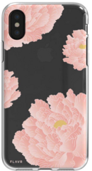 Flavr Flower Case for iPhone Xs Max - Transparent