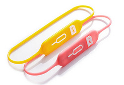 Lead Trend S-Keeper Travel Sim Card Holder - Yellow/Pink