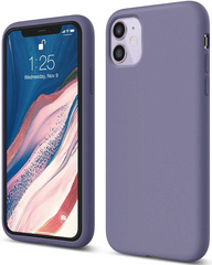 ELAGO Silicone Case for iPhone 11 - Lavanda Gray