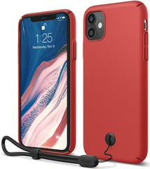 ELAGO Slim Fit Strap Case for iPhone 11 - Red