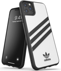 Adidas Moulded PU Case for iPhone 11 PRO Max - White