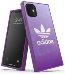 Adidas Square Case for iPhone 11 - Purple