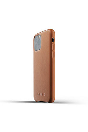 MUJJO Full Leather Case for iPhone 11 - Tan