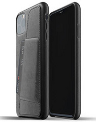 MUJJO Full Leather Wallet Case for iPhone 11 Pro Max - Black