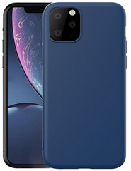 Original Silicone 360° Case for iPhone 11 - Dark Blue
