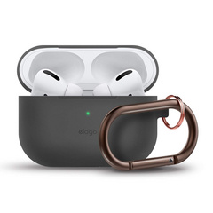 Elago Airpods Pro Slim Hang Case - Dark Gray