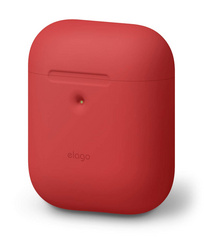 Elago Wireless Airpods Silicone Case - Red