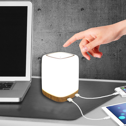 Macally Nightstand LED light with 4 port USB charger - EU