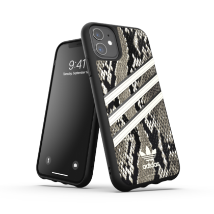 Adidas Moulded PU Case for iPhone 11 - Black Snake