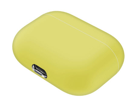 Sdesign Airpods Pro Silicone Case - Yellow