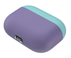 Sdesign Airpods Pro Silicone Case - Green/Violet
