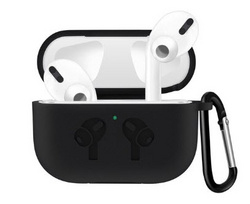 Sdesign Airpods Pro Hang Silicone Case - Black