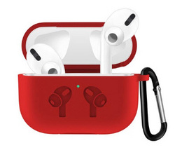 Sdesign Airpods Pro Hang Silicone Case - Red