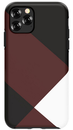 DEVIA Grid Case for iPhone 11 - Brown