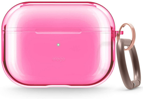 Elago Airpods Pro TPU Case - Neon Hot Pink