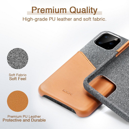 ESR Metro Wallet Case for iPhone 11 PRO Max - Brown