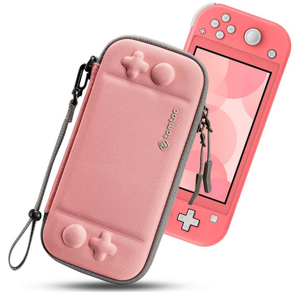 TomToc Nintendo Switch Lite Slim Case - Coral Red