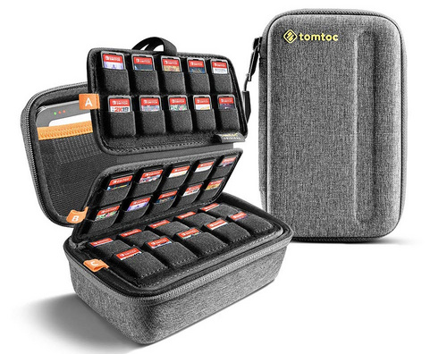 TomToc Nintendo Switch Game Storage Case