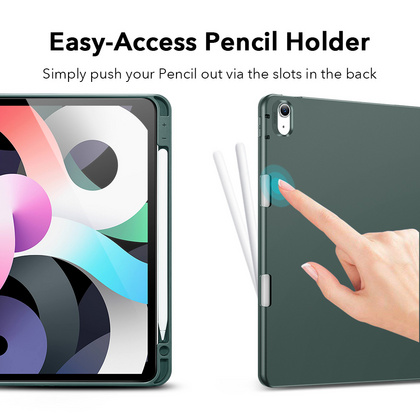 Sdesign Silicone Case with Apple Pencil holder for iPad Air 4 - Cactus