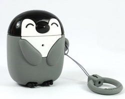 MojiPower Airpods Case - Penguin