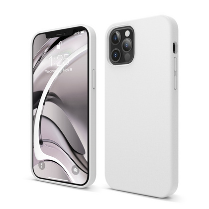 ELAGO Silicone Case for iPhone 12 PRO - White