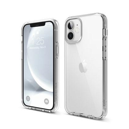 ELAGO Hybrid Case for iPhone 12 Mini - Clear