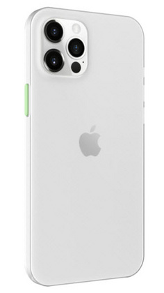SwitchEasy Ultra Slim for iPhone 12/PRO - Transparent White
