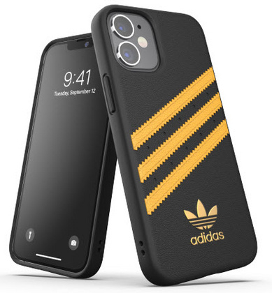 Adidas Moulded Case for iPhone 12 Mini - Black