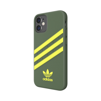 Adidas Moulded Case for iPhone 12 Mini - Green