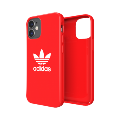Adidas Glossy Case for iPhone 12 Mini - Red