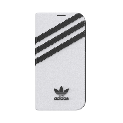 Adidas Booklet Basic Case for iPhone 12 Mini - White
