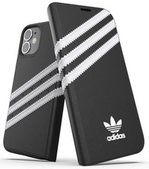 Adidas Booklet Basic Case for iPhone 12 Mini - Black