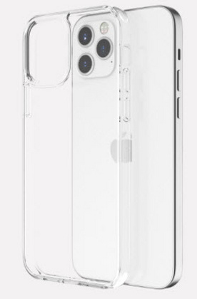 Vokamo Sdouble Case for iPhone 12 Mini - Clear