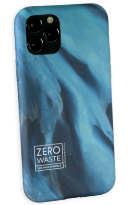 Wilma Biodegradable Case for iPhone 12 Mini - Glacier