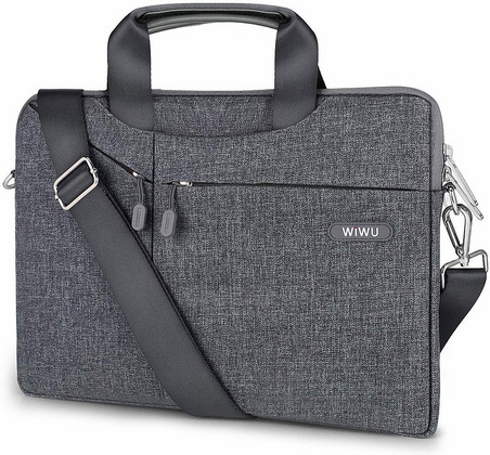 "Wiwu Pioneer Hangbag for up to 15.4"" Laptop - Gray"
