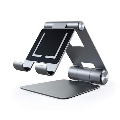Satechi R1 Foldable Stand for iPad & Tablet - Space Gray