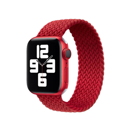 Stoband Braided Loop Strap 38 | 40 mm - Red