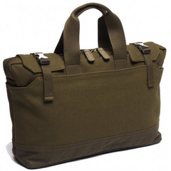 "North South Tote 11""-13"" - Olive"